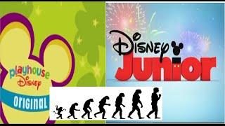 getlinkyoutube.com-Logo Evolution: Playhouse Disney/Disney Junior (1997-present)