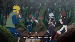 Naruto Shippuden storm revolution- la historia de obito y kushina