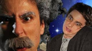 getlinkyoutube.com-Einstein vs Stephen Hawking -Epic Rap Battles of History #7