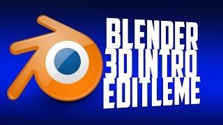 getlinkyoutube.com-Blender ile 3D INTRO Nasıl Yapılır  [Sesli Anlatım]