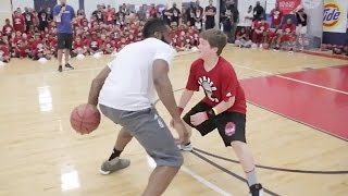 getlinkyoutube.com-James Harden Humiliates Young Child