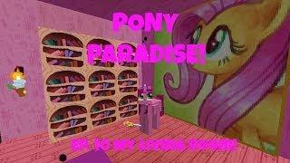 getlinkyoutube.com-Pony Paradise! Ep.10 My Living Room! | Amy Lee33 | Mine Little Pony