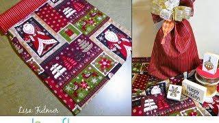 getlinkyoutube.com-How to Sew a Reversible Fabric Gift Bag by Lisa Fulmer