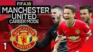 getlinkyoutube.com-FIFA 16 Career Mode: Manchester United #1 - A NEW BEGINNING! (FIFA 16 Gameplay)