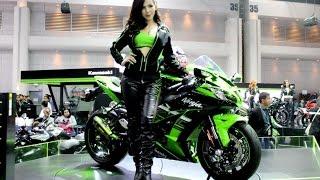 getlinkyoutube.com-Kawasaki Girls in Thailand International Motor Expo 2015