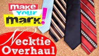 getlinkyoutube.com-How to: Update & Slim Down a Necktie