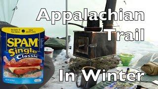 Hot Tent Wood Stove Bushcraft Spam n Quinoa + Appalachian Trail Tales