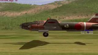 getlinkyoutube.com-IL-2 Sturmovik - JG62 Betty Bad Landings