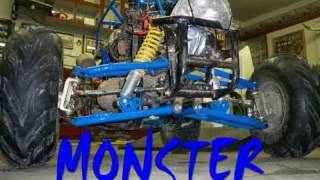 getlinkyoutube.com-RC QUAD MONSTER TRUCK 110cc THE MAKING OF IT