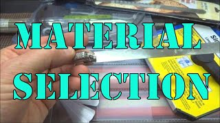 getlinkyoutube.com-(114) Pick Making Part 1: Material Selection
