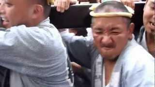 getlinkyoutube.com-2012年 6/10 鐘ヶ淵隅田稲荷神社本社神輿 八幡巴 Vol.4