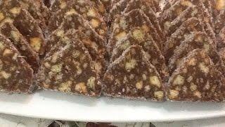 getlinkyoutube.com-حلوة الشهدة المميزة بالشوكولاته و الكوك تقديم و مذاق اكتر من رائع من المطبخ المغربي مع ربيعة