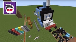 getlinkyoutube.com-Minecraft: Building Thomas The Tank Engine - Minecraft Lets Play Video.