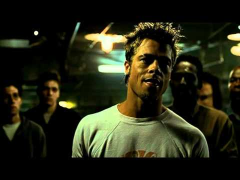 Fight Club Tyler Durden Speech First rule of Fight Club ( High Quality )