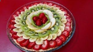 getlinkyoutube.com-تارت بالفواكه سهلة و لذيذة مع طبخ ليلى tarte aux fruits