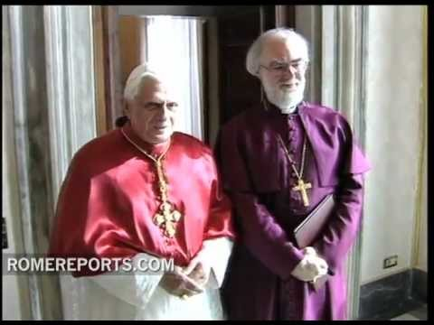 Anglican leader Rowan Williams to visit Pope in Rome this March