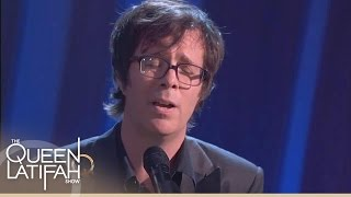 getlinkyoutube.com-Ben Folds Performs 'The Luckiest' on The Queen Latifah Show