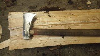 Forging a splitting ax