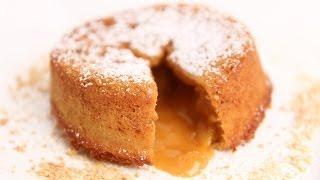 getlinkyoutube.com-Molten Butterscotch Lava Cake Recipe - Laura Vitale - Laura in the Kitchen Episode 675