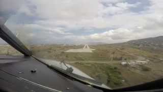 getlinkyoutube.com-Approach and Landing Mykonos JMK LGMK