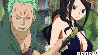 One Piece 804 ワンピース Manga Chapter Review- Zoro VS Mink Tribe Fight & A Dragon's Death??!!