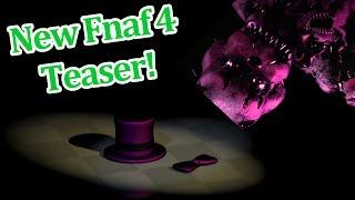 getlinkyoutube.com-FredBear's Family Diner teased? New Fnaf 4 Teaser Image!