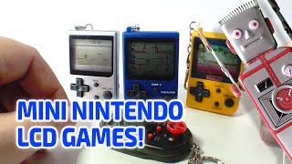 getlinkyoutube.com-MINI NINTENDO CLASSICS LCD GAMES Working Miniatures