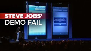 getlinkyoutube.com-CNET News: Steve Jobs' demo fail