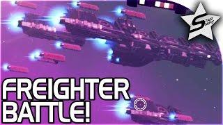 getlinkyoutube.com-FREIGHTER BATTLE!! - No Man's Sky FOUNDATION UPDATE Gameplay Part 3 Update 1.1