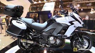 getlinkyoutube.com-2015 Kawasaki Versys 1000 - Walkaround - Debut at 2014 EICMA Milan Motorcycle Exhibition