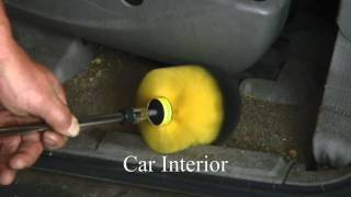 getlinkyoutube.com-Joe Magenst Recommends the DRILL BRUSH For Cleaning Car Interiors Plus MORE!!