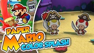 getlinkyoutube.com-Dos mejor que uno - #29 - Paper Mario Color Splash (Wii U) en Español
