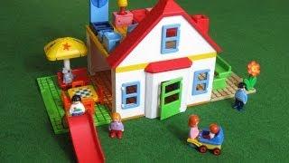 getlinkyoutube.com-Playmobil Casa Familiar con Tobogán 6768 - Juguetes de Playmobil