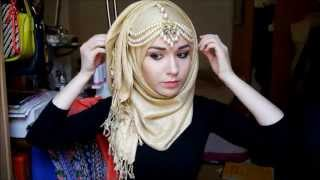 getlinkyoutube.com-Hijab Tutorial l EID