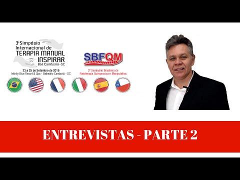 Vídeo: 3 Simpósio Internacional de Terapia Manual-Entrevistas parte 2