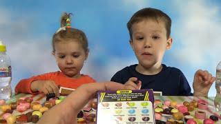 getlinkyoutube.com-Бин Бузлд Челлендж кушаем конфетки Bean Boozled challenge kids
