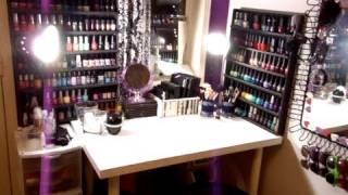 getlinkyoutube.com-Makeup Collection & Vanity Tour (Updated Nov 2011) ♡ Theeasydiy #Organization