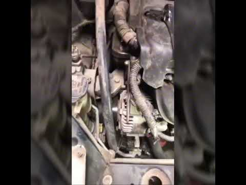 2002 Toyota Echo serpentine belt replacement