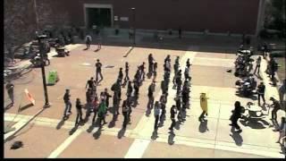 getlinkyoutube.com-Cupid Shuffle Flash Mob
