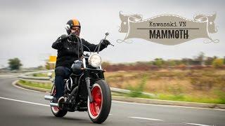 Kawasaki VN 800 MaMMoth bobber by Vladimir | Ep 4