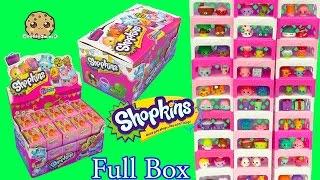 getlinkyoutube.com-Shopkins Stack Challenge - Full Complete Season 4 Box of 30 Surprise Blind Bags - Cookieswirlc