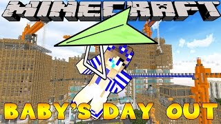 Minecraft-Little Carly Adventures-BABY CARLYS BIG DAY OUT!!