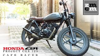 getlinkyoutube.com-Honda CB1 CGX 125cc Cafe Racer - ZMCM