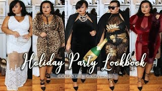 getlinkyoutube.com-2016 PLUS SIZE HOLIDAY PARTY FASHION LOOKBOOK WITH GS LOVE
