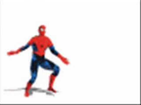 Dance gay man spider