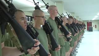 Marine Corps Boot Camp - Nighttime Routine