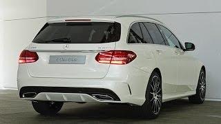 getlinkyoutube.com-Mercedes C-Klasse T-Modell - Erste Sitzprobe