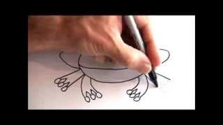 Cute Toons - How To Draw A Cartoon Frog