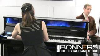 getlinkyoutube.com-Kawai CS X1 Prototype Digital Piano Designed with Onkyo