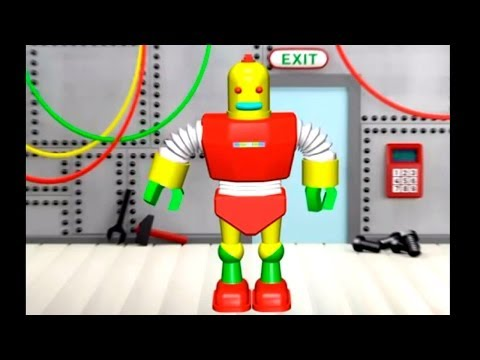 Çizgi film - Robot (Build and Play - Robot) Конструктор - Робот